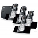 Siemens Gigaset SL400A Bluetooth Cordless Phone - Quad Pack
