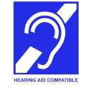 Plantronics HW251H Supraplus Hearing Aid Wideband Monaural Voicetube