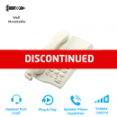 Interquartz Gemini Basic 9330 Business Phone - White (Corded Phone - Analogue)