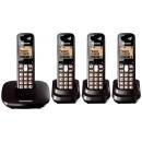 Panasonic KX-TG6414 Quad Digital Cordless Phone