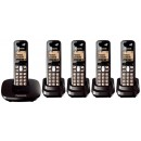 Panasonic KX-TG6415 Quint Digital Cordless Phone