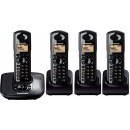 Panasonic KX-TG6484 DECT Cordless Phones - Quad Pack