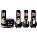 Panasonic KX-TG6524 Quad Digital Cordless Answering System
