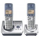 Panasonic KX-TG7222ES Twin Cordless Phone with Answering Machine