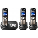 Panasonic KX-TG8023 Triple DECT Cordless Phone With Answering Machine