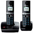 Panasonic KX-TG8062EB DECT Cordless Phone With Answering Machine - Twin Pack