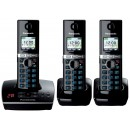 Panasonic KX-TG8063EB DECT Cordless Phone With Answering Machine - Triple