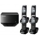 Panasonic KX-TGP500 Quad DECT Cordless SIP IP Phone
