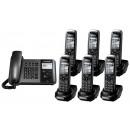 Panasonic KX-TGP550 SIP IP Phone & Sextet Cordless Handsets