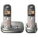 Panasonic KX-TG7322 Twin EG Cordless Phone with Answering Machine