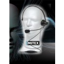 Mitex Boom Overhead Headset With PTT