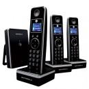 Motorola LIVN D803 DECT Cordless Phone Triple Pack - Black
