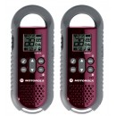 Motorola TLKR-T5 Limited Edition RED - Twin Pack Two Way Radios