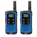 Motorola TLKR T41 Two Way Radios Twin Pack (Blue) - New