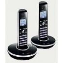 iDECT N1i DECT With Answering Machine - Twin Pack
