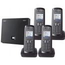 Siemens Gigaset N300IP DECT Base And E49H Additional Handset - Quad Pack