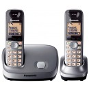 Panasonic KX-TG6512 Cordless Phone - Twin Pack