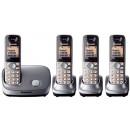 Panasonic KX-TG6514 Quad Cordless Phone
