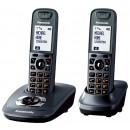 Panasonic KX-TG7522EM DECT Twin Pack Cordless Phone with Answering Machine