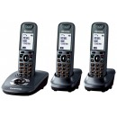 Panasonic KX-TG7523EM DECT Triple Pack Cordless Phone with Answering Machine