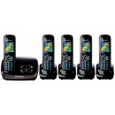 Panasonic KX-TG8525 Quint Cordless Phones With Answermachine