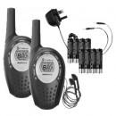 Cobra MT800-2VP PMR Radio Twin Pack