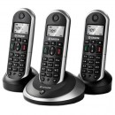 Sagemcom D16T DECT Cordless Phone - Triple Pack