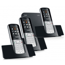 Siemens Gigaset SL400A Bluetooth Cordless Phone - Triple Pack