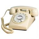 Steepletone 1960's Desktop Telephone - Cream