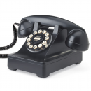 Classic Series 302 Desk Phone from Wild and Wolf - Black