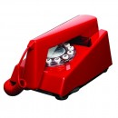 Wild & Wolf Trim Phone - Red