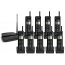 EnGenius EP802 Extreme Long Range Nonuple (9 Handsets) Cordless Phone