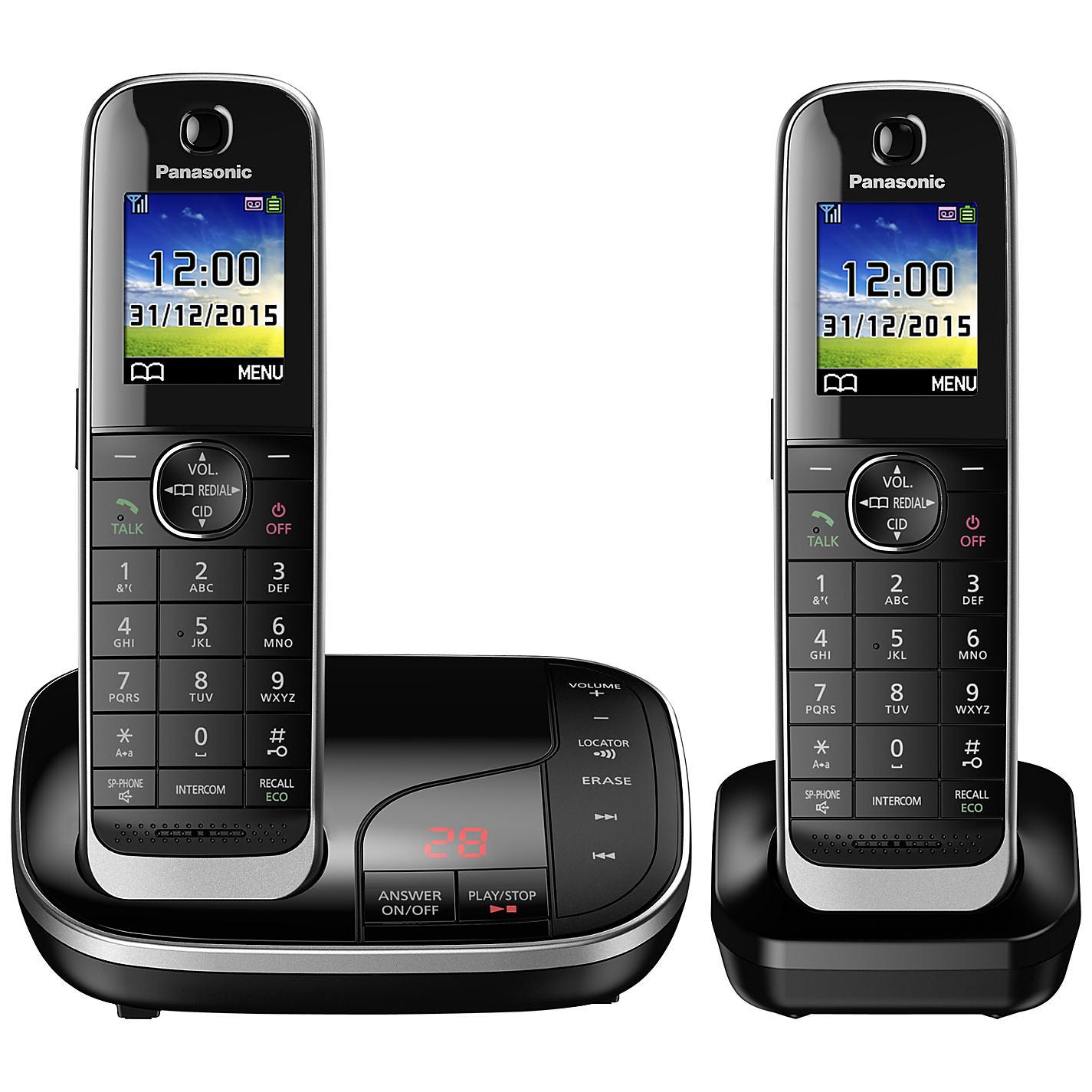 Panasonic Kx Tgj322eb Dect Kx Tgj322eb From 163 77 28