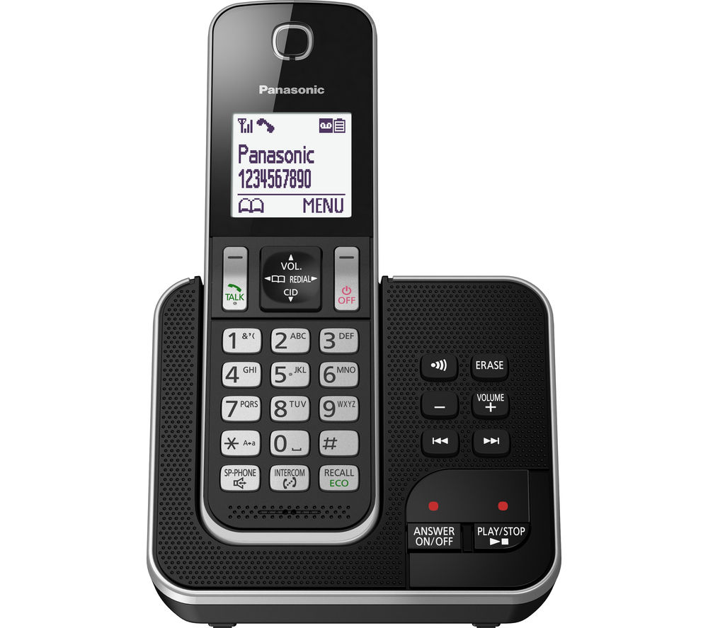 Find Every Shop In The World Selling Panasonic Kx Tg6711 Dect Tg7611 Cordless Tg6811 Wireless Phone With Power Backup Kxtgd320eb 10696 30mins 200hrs 5025232765492