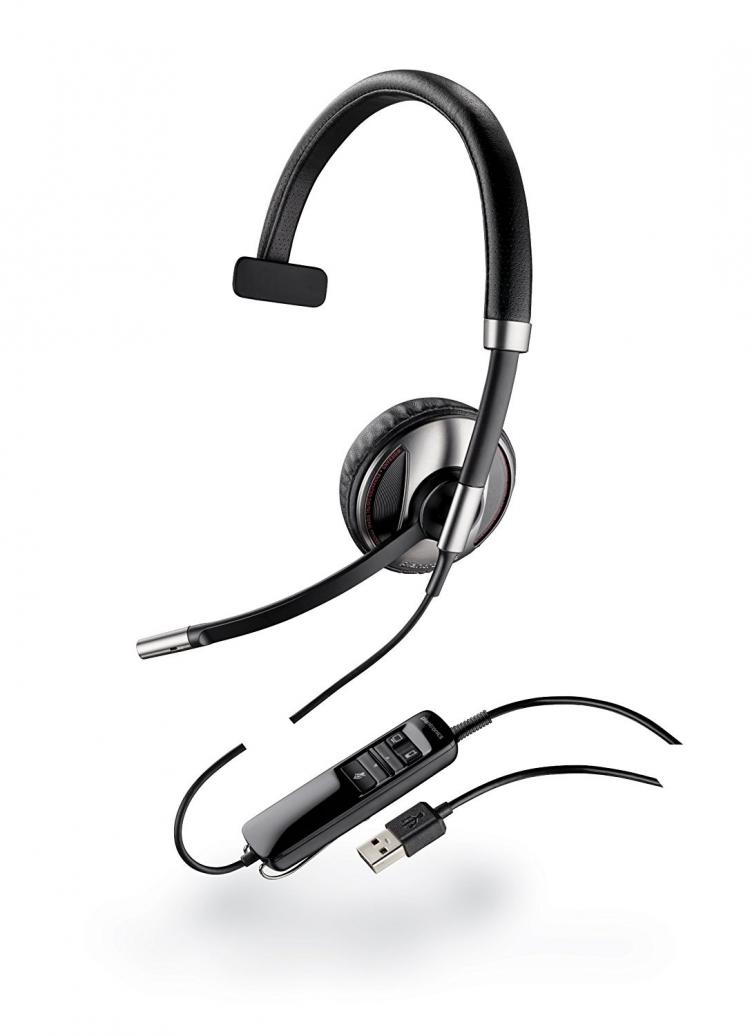 Plantronics Blackwire Headset C710 Or C710 M From 78 00 87505 01 87505 02 Pmc Telecom