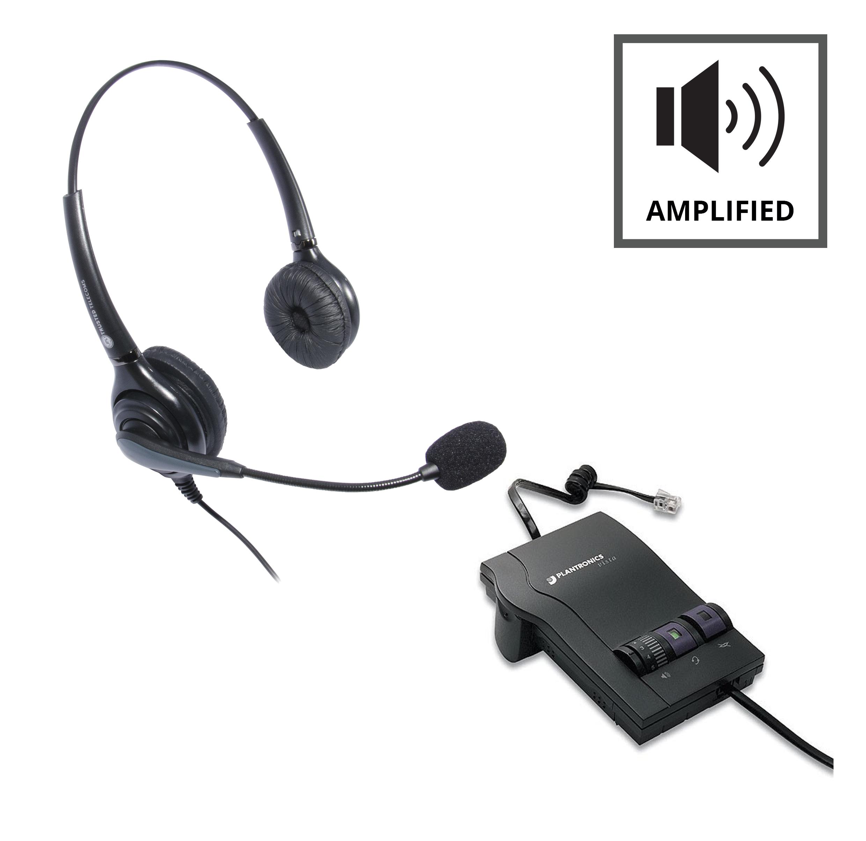 refurbished plantronics m12 vista jpl 502 headset from 70 95 rh pmctelecom co uk Plantronics Sound Innovation Vista M22 Plantronics Sound Innovation Vista M22