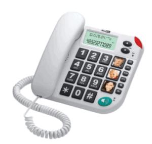 Maxcom KXT 480BB Fixed Line Phone - White