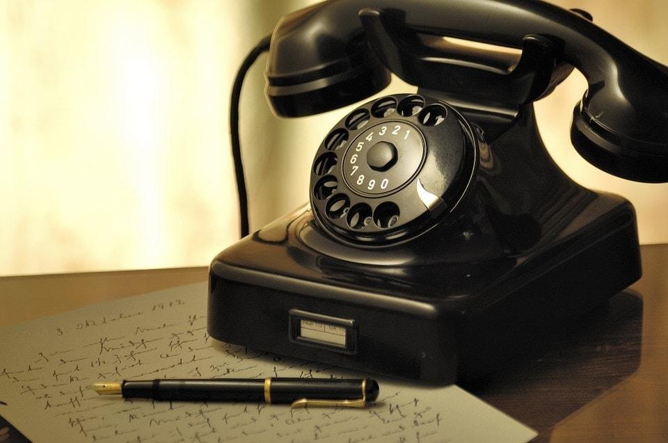 corded telephone home