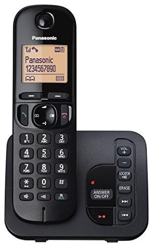 Image of a Panasonic KX-TGC220EB cordless phone
